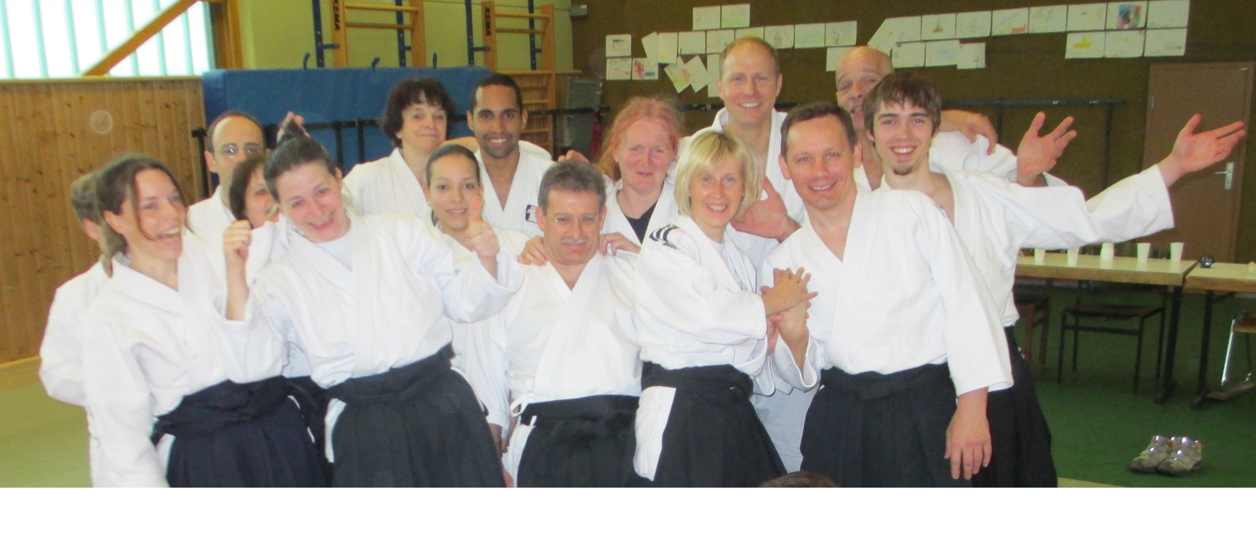 Aikido Gruppenbild