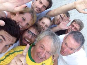 Die Volleyballer des SSV Homburg Erbach