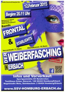 Plakat Weiberfasching